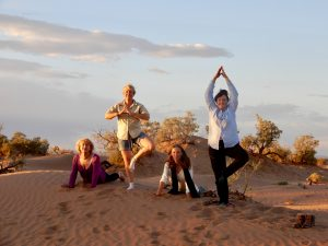 stage yoga desert Maroc