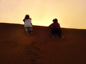 retraite désert
