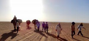 trek randonnée desert maroc dsert