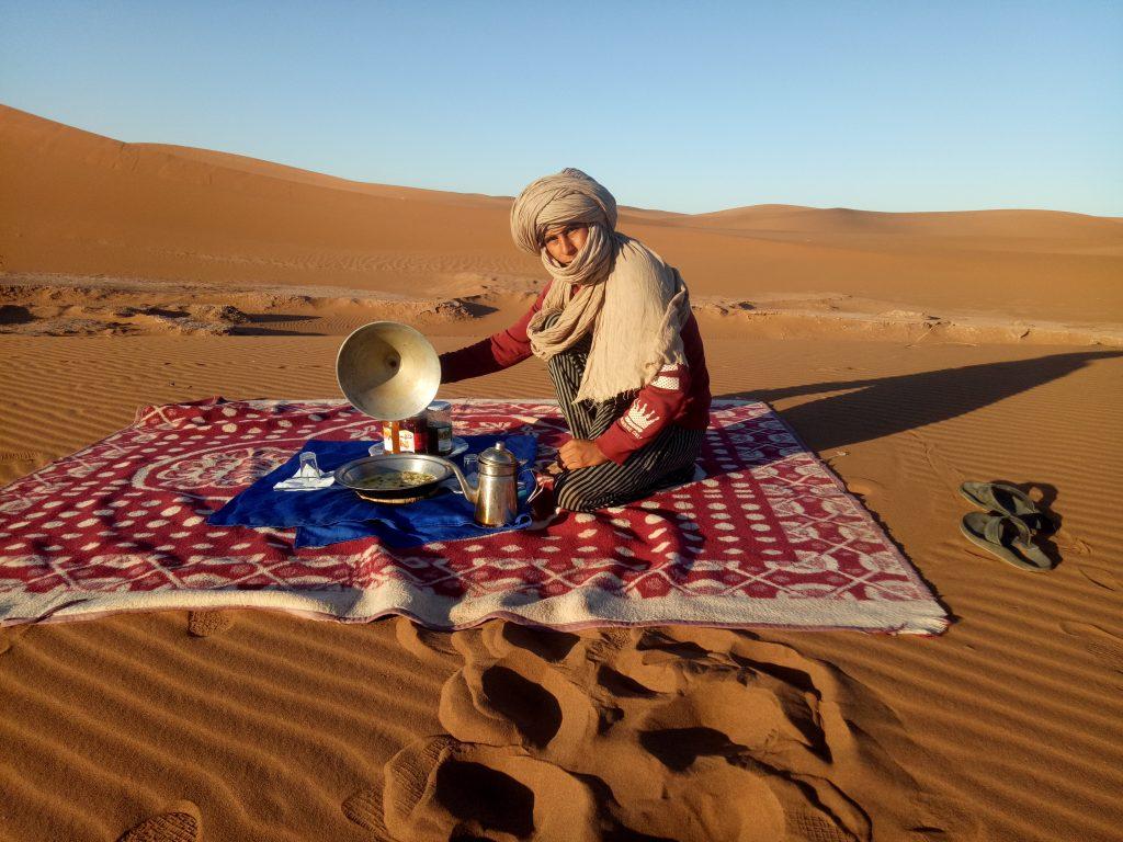 bivouac  desert Sahara